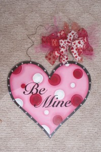 Heart with Be Mine