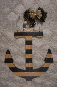 Anchor - Black and Gold