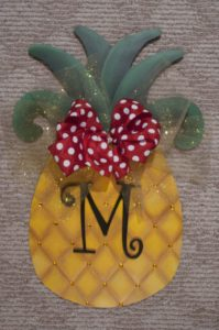 Pineapple - Gold w Monogram