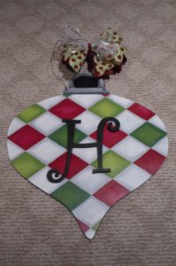 ornament-red-and-green-argyle-with-monogram