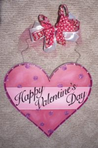 Heart with Happy Valentines Day