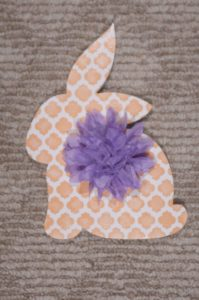 Easter Bunny - Tabletop w Bow