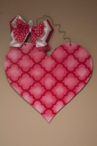 Heart - Red and Pink with Quatrafoil
